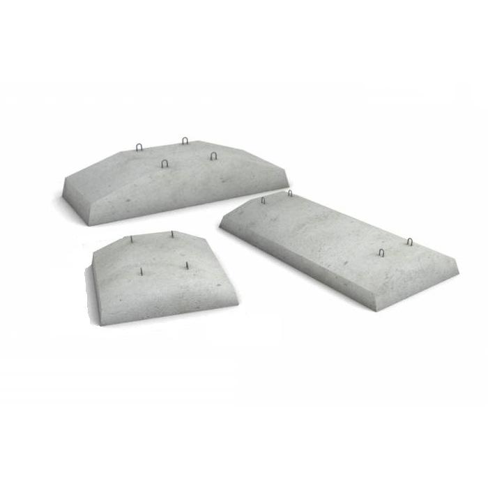 бетонные подушки размеры